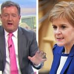 Piers Morgan hits out at Nicola Sturgeon for 'cancelling' GMB interview: 'Don't hide!'